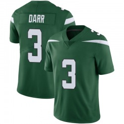 Limited Men's Matt Darr New York Jets Nike Vapor Jersey - Gotham Green