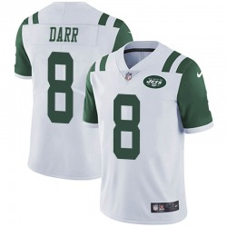 Limited Men's Matt Darr New York Jets Nike Vapor Untouchable Jersey - White