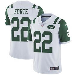 Limited Men's Matt Forte New York Jets Nike Jersey - White