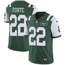 Limited Men's Matt Forte New York Jets Nike Team Color Jersey - Green