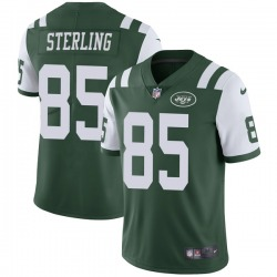 Limited Men's Neal Sterling New York Jets Nike Team Color Vapor Untouchable Jersey - Green