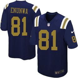 Limited Men's Quincy Enunwa New York Jets Nike Alternate Jersey - Navy Blue