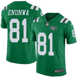 Limited Men's Quincy Enunwa New York Jets Nike Color Rush Jersey - Green