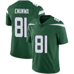 Limited Men's Quincy Enunwa New York Jets Nike Vapor Jersey - Gotham Green