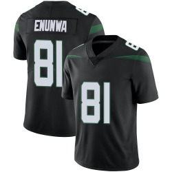 Limited Men's Quincy Enunwa New York Jets Nike Vapor Jersey - Stealth Black