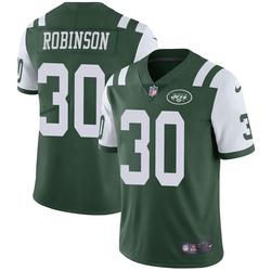 Limited Men's Rashard Robinson New York Jets Nike Team Color Vapor Untouchable Jersey - Green