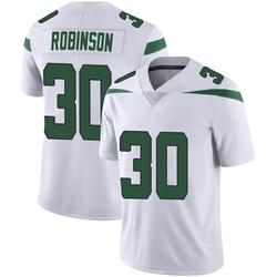 Limited Men's Rashard Robinson New York Jets Nike Vapor Jersey - Spotlight White