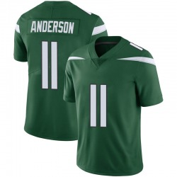 Limited Men's Robby Anderson New York Jets Nike Vapor Jersey - Gotham Green