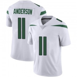 Limited Men's Robby Anderson New York Jets Nike Vapor Jersey - Spotlight White