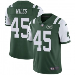 Limited Men's Rontez Miles New York Jets Nike Team Color Vapor Untouchable Jersey - Green