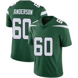 Limited Men's Ryan Anderson New York Jets Nike Vapor Jersey - Gotham Green