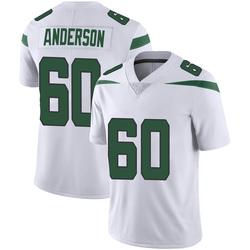 Limited Men's Ryan Anderson New York Jets Nike Vapor Jersey - Spotlight White