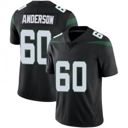 Limited Men's Ryan Anderson New York Jets Nike Vapor Jersey - Stealth Black