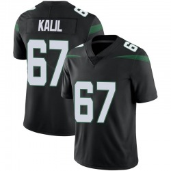 Limited Men's Ryan Kalil New York Jets Nike Vapor Jersey - Stealth Black