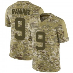Limited Men's Santos Ramirez New York Jets Nike 2018 Salute to Service Jersey - Camo