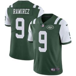 Limited Men's Santos Ramirez New York Jets Nike Team Color Vapor Untouchable Jersey - Green