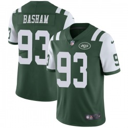 Limited Men's Tarell Basham New York Jets Nike Team Color Vapor Untouchable Jersey - Green