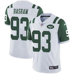 Limited Men's Tarell Basham New York Jets Nike Vapor Untouchable Jersey - White