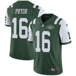 Limited Men's Terrelle Pryor New York Jets Nike Team Color Vapor Untouchable Jersey - Green