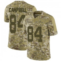 Limited Men's Tevaughn Campbell New York Jets Nike 2018 Salute to Service Jersey - Camo