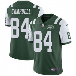 Limited Men's Tevaughn Campbell New York Jets Nike Team Color Vapor Untouchable Jersey - Green