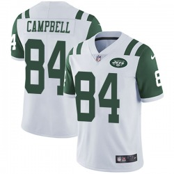 Limited Men's Tevaughn Campbell New York Jets Nike Vapor Untouchable Jersey - White