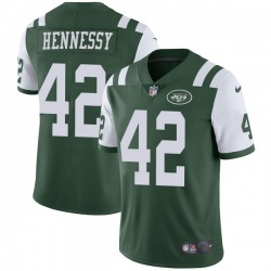 Limited Men's Thomas Hennessy New York Jets Nike Team Color Vapor Untouchable Jersey - Green