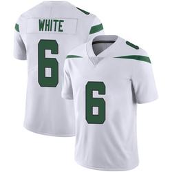 Limited Men's Tim White New York Jets Nike Vapor Jersey - Spotlight White
