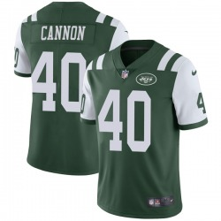 Limited Men's Trenton Cannon New York Jets Nike Team Color Vapor Untouchable Jersey - Green