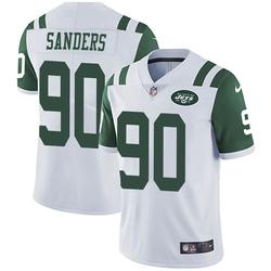 Limited Men's Trevon Sanders New York Jets Nike Vapor Untouchable Jersey - White