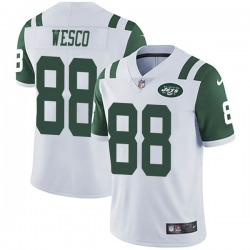 Limited Men's Trevon Wesco New York Jets Nike Vapor Untouchable Jersey - White