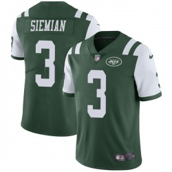 Limited Men's Trevor Siemian New York Jets Nike Team Color Vapor Untouchable Jersey - Green