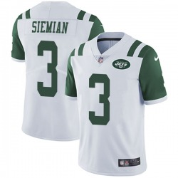 Limited Men's Trevor Siemian New York Jets Nike Vapor Untouchable Jersey - White