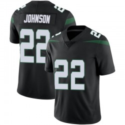 Limited Men's Trumaine Johnson New York Jets Nike Vapor Jersey - Stealth Black