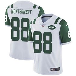 Limited Men's Ty Montgomery New York Jets Nike Vapor Untouchable Jersey - White