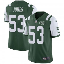 Limited Men's Tyler Jones New York Jets Nike Team Color Vapor Untouchable Jersey - Green
