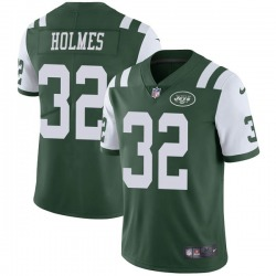 Limited Men's Valentine Holmes New York Jets Nike Team Color Vapor Untouchable Jersey - Green