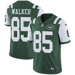 Limited Men's Wesley Walker New York Jets Nike Team Color Jersey - Green
