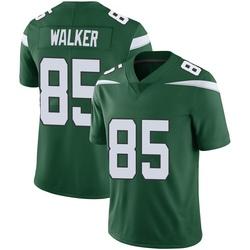 Limited Men's Wesley Walker New York Jets Nike Vapor Jersey - Gotham Green