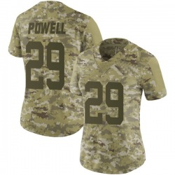 Limited Women's Bilal Powell New York Jets Nike 2018 Salute to Service Jersey - Camo