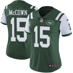 Limited Women's Josh McCown New York Jets Nike Team Color Jersey - Green