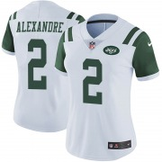 Limited Women's Justin Alexandre New York Jets Nike Vapor Untouchable Jersey - White