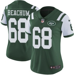 Limited Women's Kelvin Beachum New York Jets Nike Team Color Jersey - Green