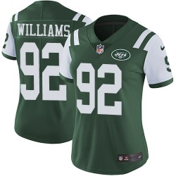 Limited Women's Leonard Williams New York Jets Nike Team Color Jersey - Green