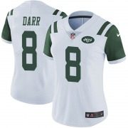 Limited Women's Matt Darr New York Jets Nike Vapor Untouchable Jersey - White