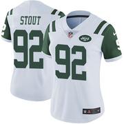 Limited Women's MyQuon Stout New York Jets Nike Vapor Untouchable Jersey - White
