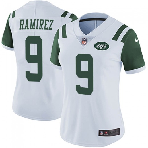 Limited Women's Santos Ramirez New York Jets Nike Vapor Untouchable Jersey - White