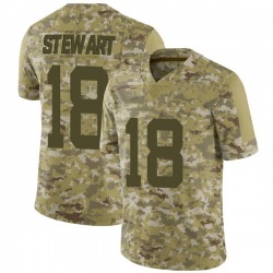 Limited Youth ArDarius Stewart New York Jets Nike 2018 Salute to Service Jersey - Camo