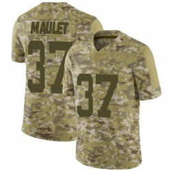 Limited Youth Arthur Maulet New York Jets Nike 2018 Salute to Service Jersey - Camo