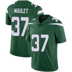 Limited Youth Arthur Maulet New York Jets Nike Vapor Jersey - Gotham Green